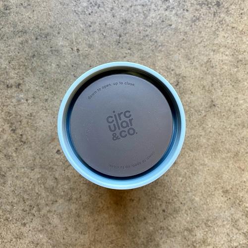 rCUP 340ml - kubek wielorazowy niebieski