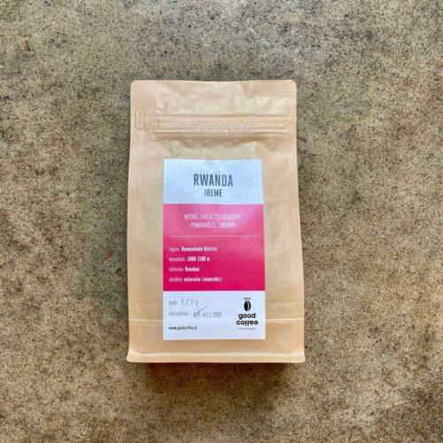 Good Coffee | Rwanda Ireme | Kawa zarnista speciality | 250g