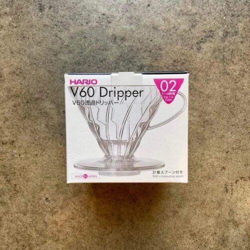 Plastikowy zaparzacz do kawy Drip Hario V60 02 | Owoce i Warzywa