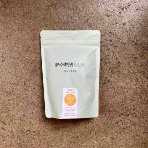 Kawa ziarnista Populus Coffee Roasters Brazil bob-o-link | Owoce i Warzywa