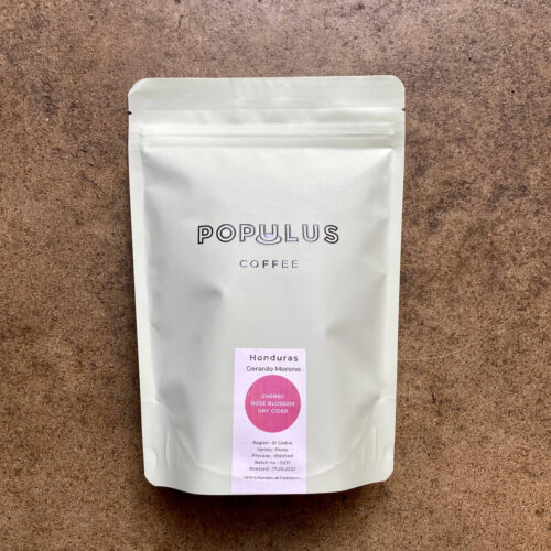 Kawa ziarnista Populus Coffee Roasters | Honduras Gerardo Moreno | Owoce i Warzywa