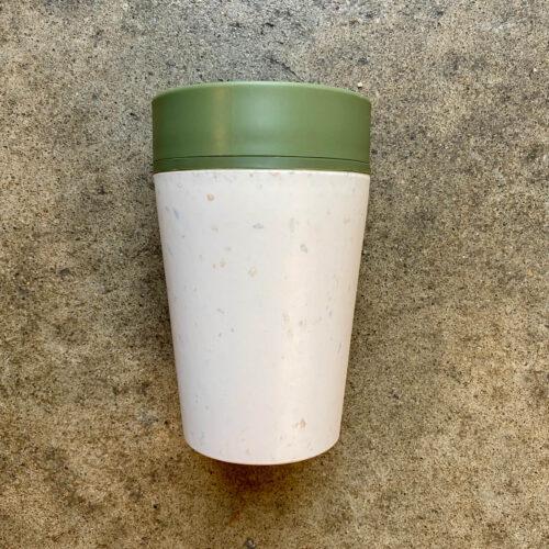 rCUP -eko kubek na kawę | kremowo-zielony | Owoce i Warzywa