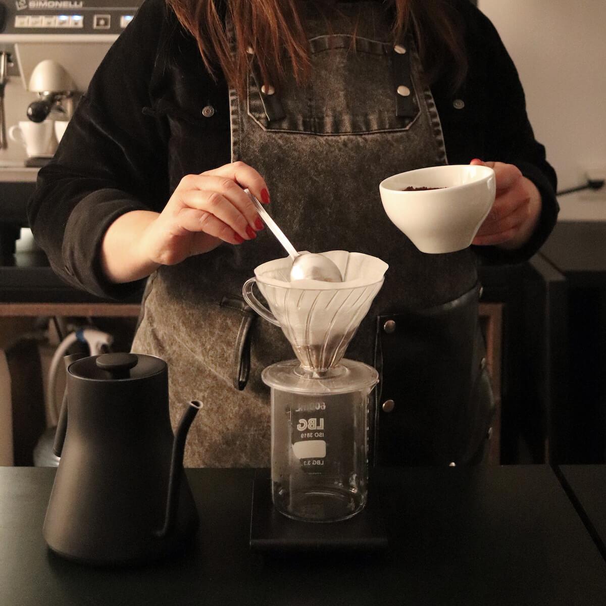 Brewing parzenie kaw metodami przelewowymi