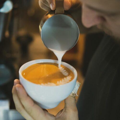Szkolenie   Latte art   rozeta   Owoce i Warzywa