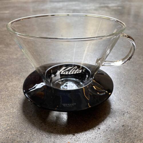 Kalita Wave 185 | dripper szklany czarny | Owoce i Warzywa