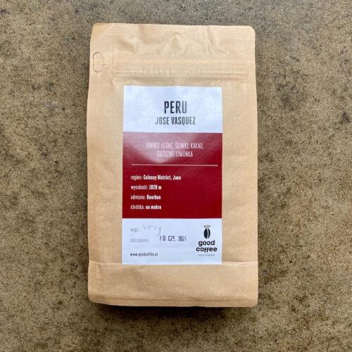 Good Coffee | Peru Jose Vasquez | kawa ziarnista speciality | Owoce i Warzywa