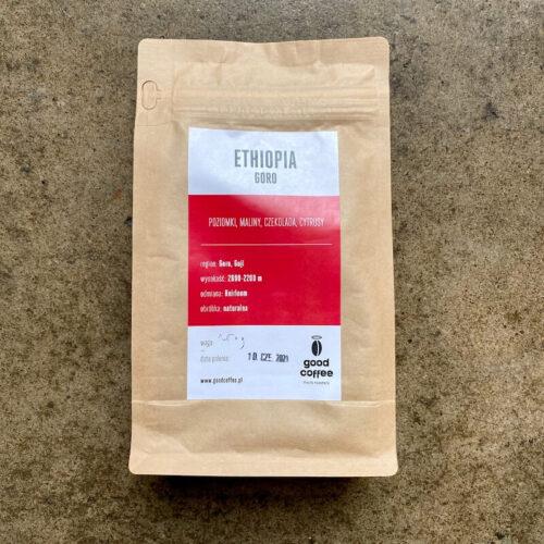 Good Coffee | Ethiopia Goro | kawa speciality | Owoce i Warzywa
