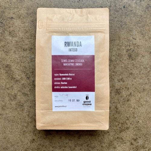 Good Coffee | Rwanda Intego | kawa ziarnista speciality