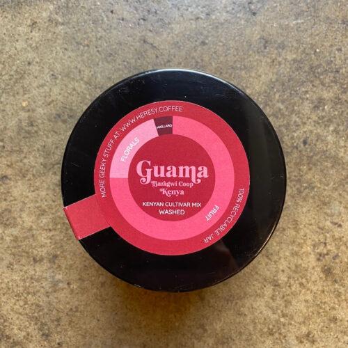 Heresy Coffee | Kenya Guama | kawa ziarnista speciality