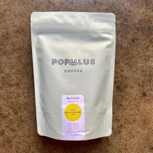 Populus Coffee Roasters | Burundi Heza FFS | kawa ziarnista speciality