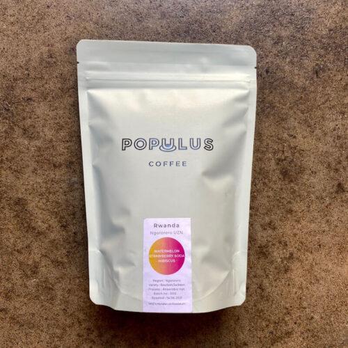 Populus Coffee Roasters | Rwanda Ngororero | kawa ziarnista speciality