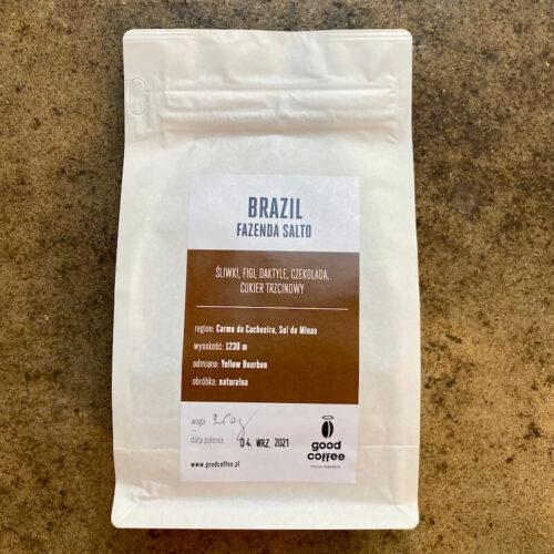 Good Coffee | Brazil Fazenda Salto | kawa ziarnista speciality | Owoce i Warzywa