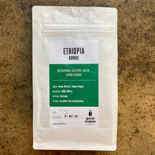 Good Coffee | Ethiopia Bombe | kawa ziarnista speciality | Owoce i Warzywa