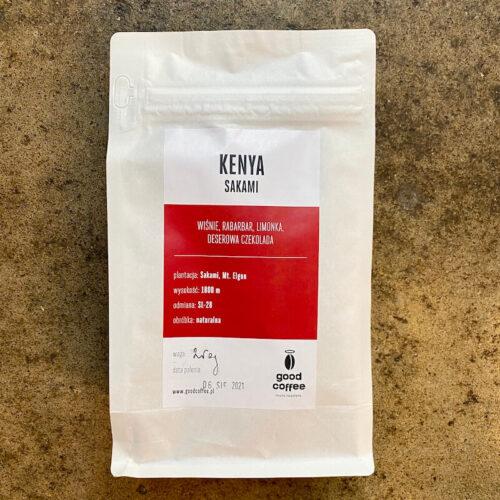 Good Coffee | Kenya Sakami | kawa ziarnista speciality | Owoce i Warzywa