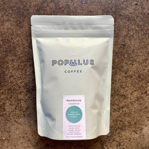 Populus Coffee | Honduras Cresencio | kawa ziarnista speciality | Owoce i Warzywa