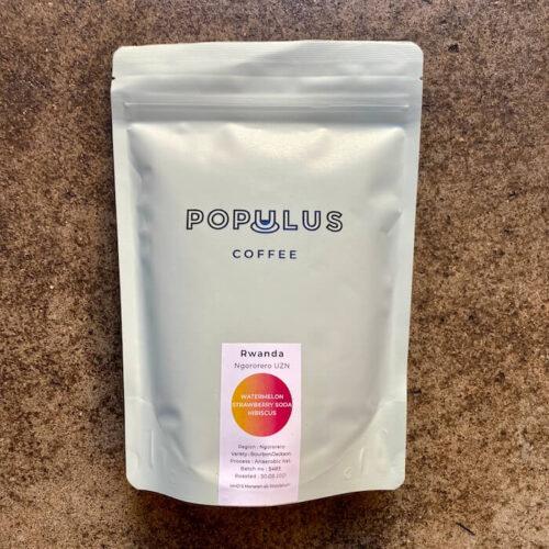 Populus Coffee | Rwanda Ngororero | anaerobic | kawa ziarnista speciality | Owoce i Warzywa